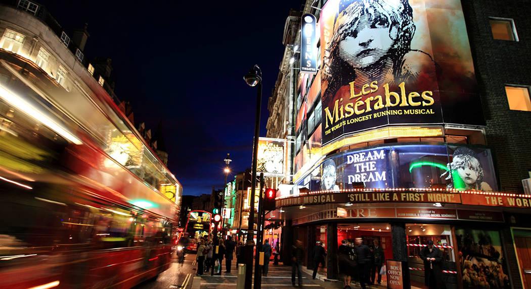 Top 5 des meilleures comédies musicales de Londres
